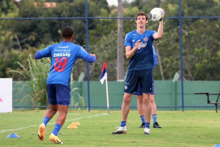 Conti já disputou a Copa Sul-Americana pelo Colón-ARG | Foto: Felipe Oliveira | EC Bahia - Foto: Felipe Oliveira | EC Bahia