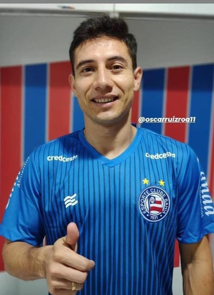 Atleta já vestiu as cores do clube | Foto: Reprodução | E.C.Bahia - Foto: Reprodução | E.C.Bahia
