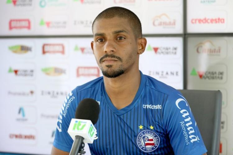 Ramon deve acertar sua transferência nos próximos dias | Foto: Felipe Oliveira | E.C.Bahia - Foto: Felipe Oliveira | E.C.Bahia