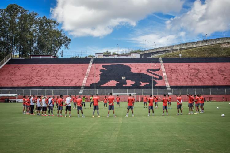 Barradão será palco do jogo único eliminatório. Em caso de empate, tem pênaltis | Foto: Pietro Carpi | EC Vitória - Foto: Pietro Carpi | EC Vitória