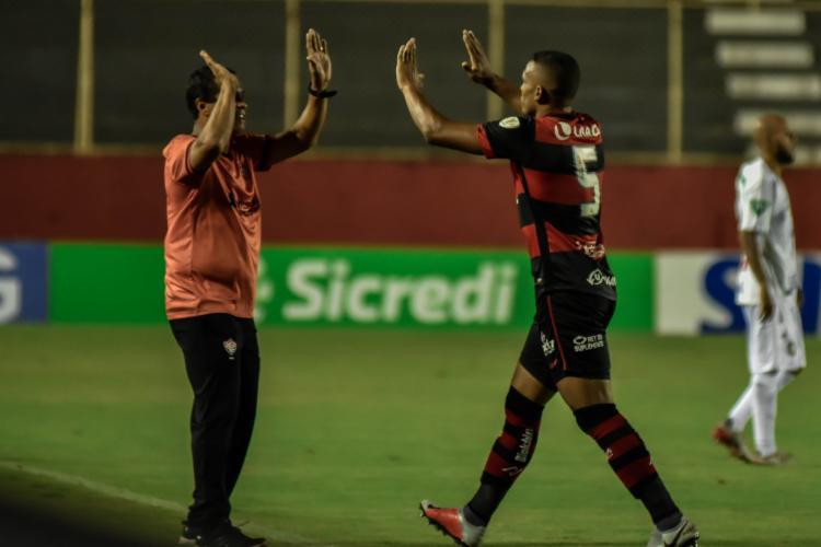 Jogador marcou na partida diante do Rio Branco-ES, pela Copa do Brasil | Foto: Pietro Carpi | E.C.Vitória - Foto: Pietro Carpi | E.C.Vitória