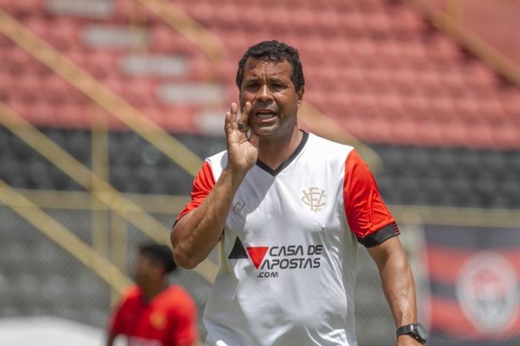 Treinador lamentou chances perdidas diante da Juazeirense | Foto: Letícia Martins | E.C.Vitória - Foto: Letícia Martins | E.C.Vitória