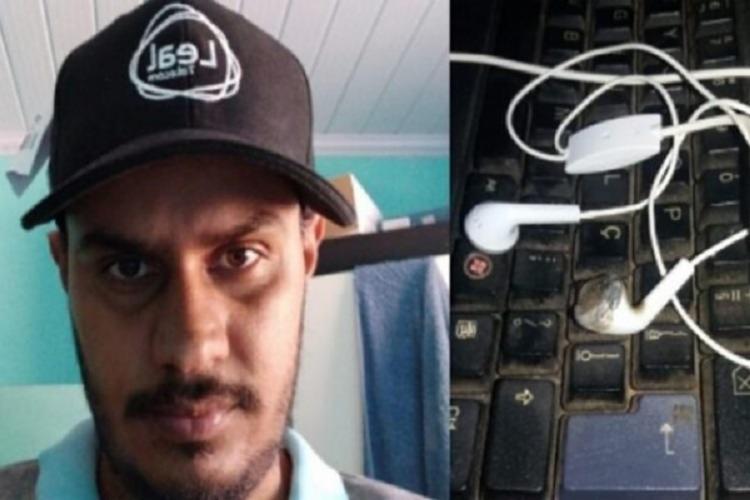 Jovem usava fones de ouvido quando receber descarga elétrica   Foto: Reprodução   Jornal do Vale - Foto: Reprodução   Jornal do Vale
