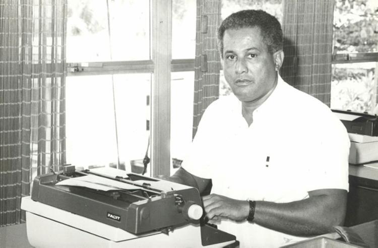 Eliezer Varjão chefiou a reportagem do jornal centenário | Foto: Arquivo A TARDE - Foto: Arquivo A TARDE