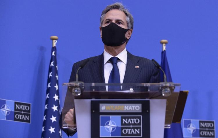 Chefe da diplomacia dos EUA, Antony Blinken, defendeu decisão   Foto: JOHANNA GERON   POOL   AFP - Foto: JOHANNA GERON   POOL   AFP