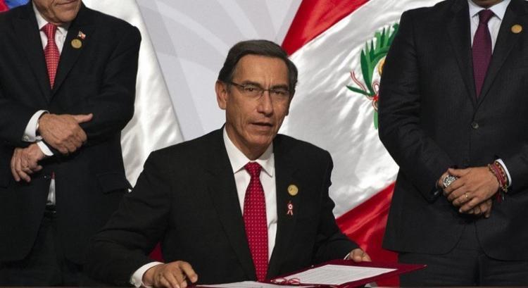 Congresso peruano cassou os direitos políticos de Martin Vizcarra por 10 anos I Foto: AFP - Foto: AFP