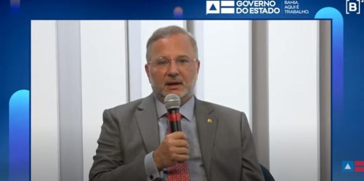 Secretário Fábio Vilas-Boas destacou histórico baiano em Parcerias Público-Privadas na Saúde / Foto: Reprodução | YouTube - Foto: Reprodução | YouTube