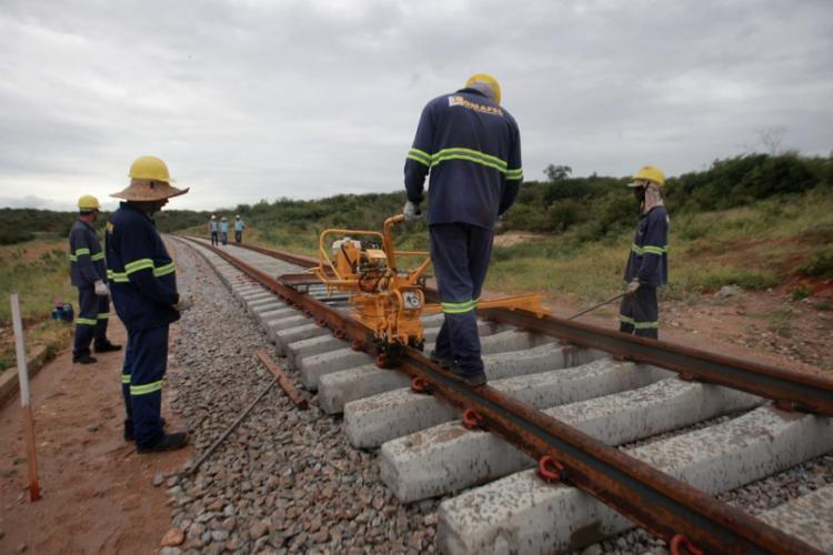 A expectativa gerada pelos equipamentos é de incentivo a novos empreendimentos ao longo de toda a malha férrea   Foto: Elói Corrêa   Gov-BA - Foto: Elói Corrêa/GovBA