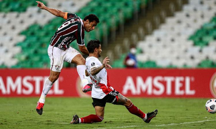 Fred marca e entra no top 5 de artilheiros brasileiros na competição | Foto: Lucas Mercon | Fluminense - Foto: Lucas Mercon | Fluminense