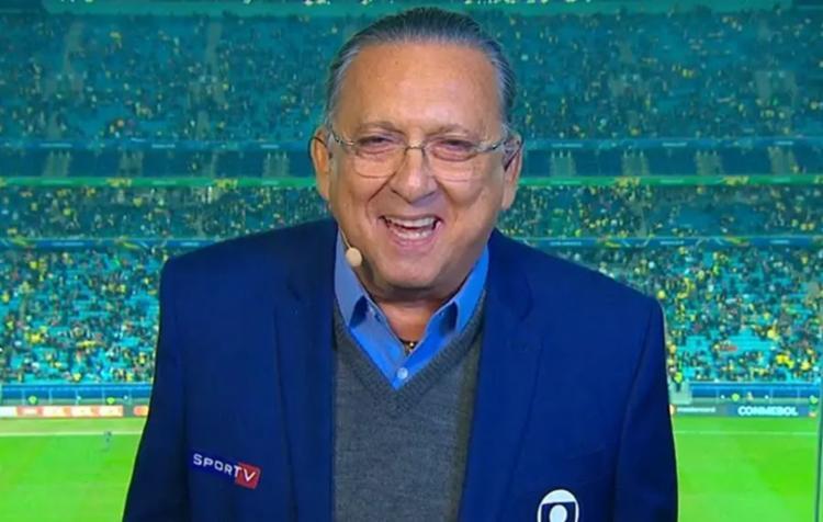 Galvão Bueno, principal nome do Esporte da Globo: de volta na Supercopa do Brasil após 14 meses I Foto: Reprodução - Foto: Reprodução