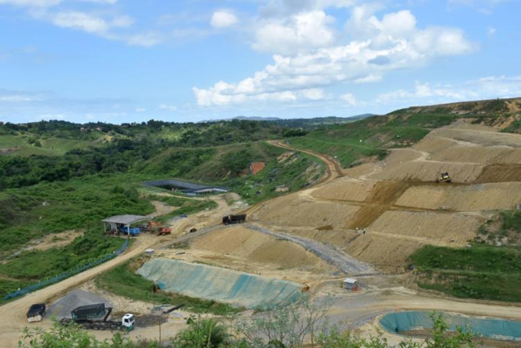 A Hera Ambiental, que fica localizada em São Francisco do Conde, trata cerca de 400 toneladas diariamente   Foto: Divulgação - Foto: Divulgação