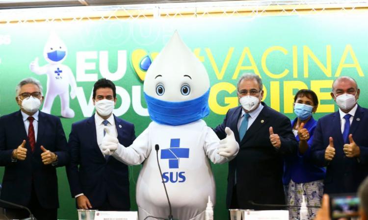 R$ 1,2 bilhão foi investido para a compra dos imunizantes, a um custo de R$ 15 a dose - Foto: Marcelo Camargo /Ag.Brasil