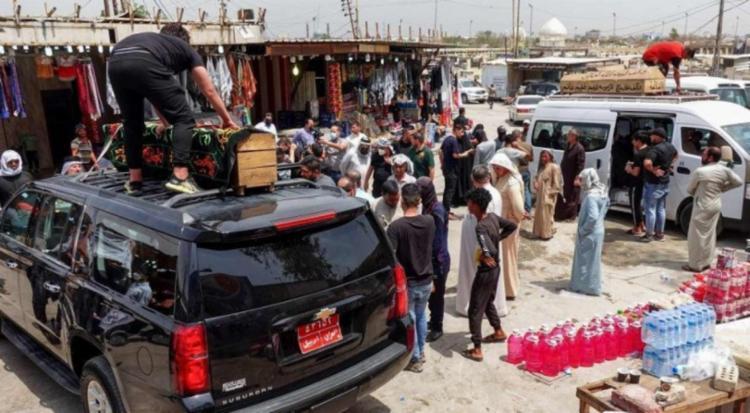 Cerca de 200 pessoas foram resgatadas do hospital | Foto: ALI NAJAFI | afp - Foto: ALI NAJAFI | afp
