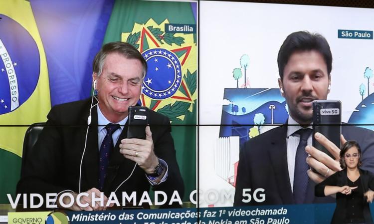 Chamada foi feita pelo ministro Fábio Faria, de São Paulo | Foto: Marcos Côrrea | PR - Foto: Marcos Côrrea | PR