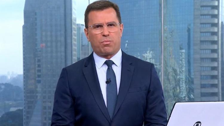 Jornalista comparou a temperatura de São Paulo com a de Mato Grosso | Foto: Reprodução | TV Globo - Foto: Reprodução | TV Globo