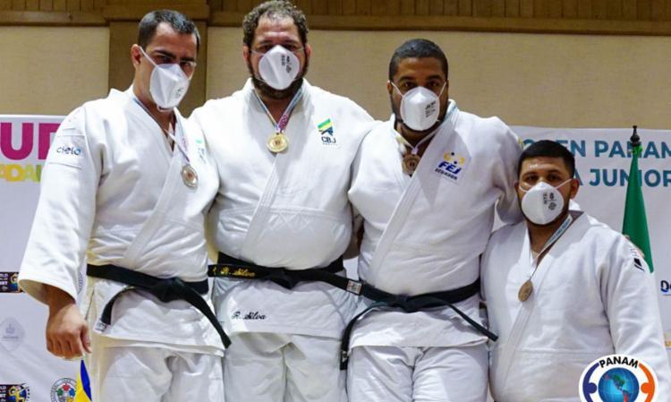 Delegação foi ao topo do pódio mais quatro vezes na última sexta, 16 | Foto: Divulgação | Panam Judo - Foto: Divulgação | Panam Judo