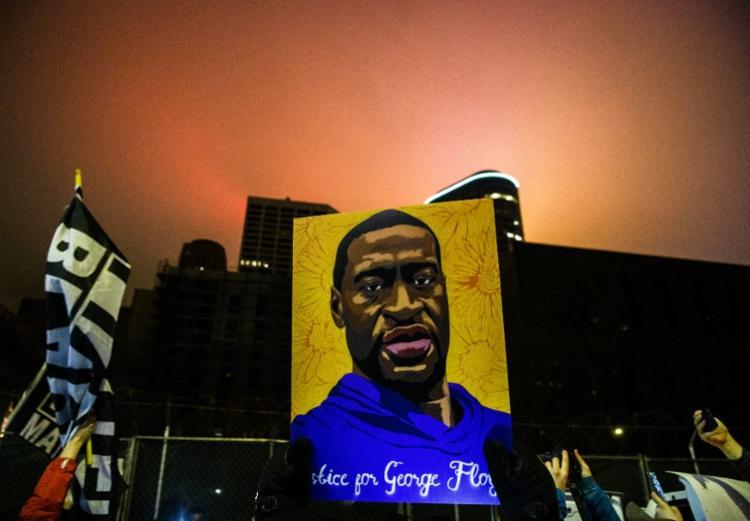 Derek Chauvin é acusado de ter matado George Floyd em 25 de maio de 2020 ao prendê-lo em Minneapolis   Foto: Stephen Maturen   Getty Images via AFP - Foto: Stephen Maturen   Getty Images via AFP