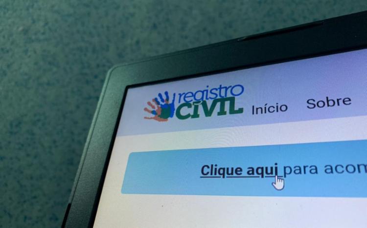 Certidões dos Cartórios de Registro Civil já podem ser solicitadas sem que os cidadãos saiam de casa, por meio eletrônico I Foto: Reprodução - Foto: Reprodução