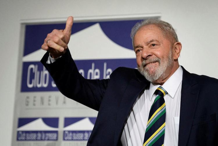 Na próxima semana, Lula janta com o vice-governador João Leão em Salvador   Foto: Fabrice Coffrini   AFP - Foto: Fabrice Coffrini   AFP