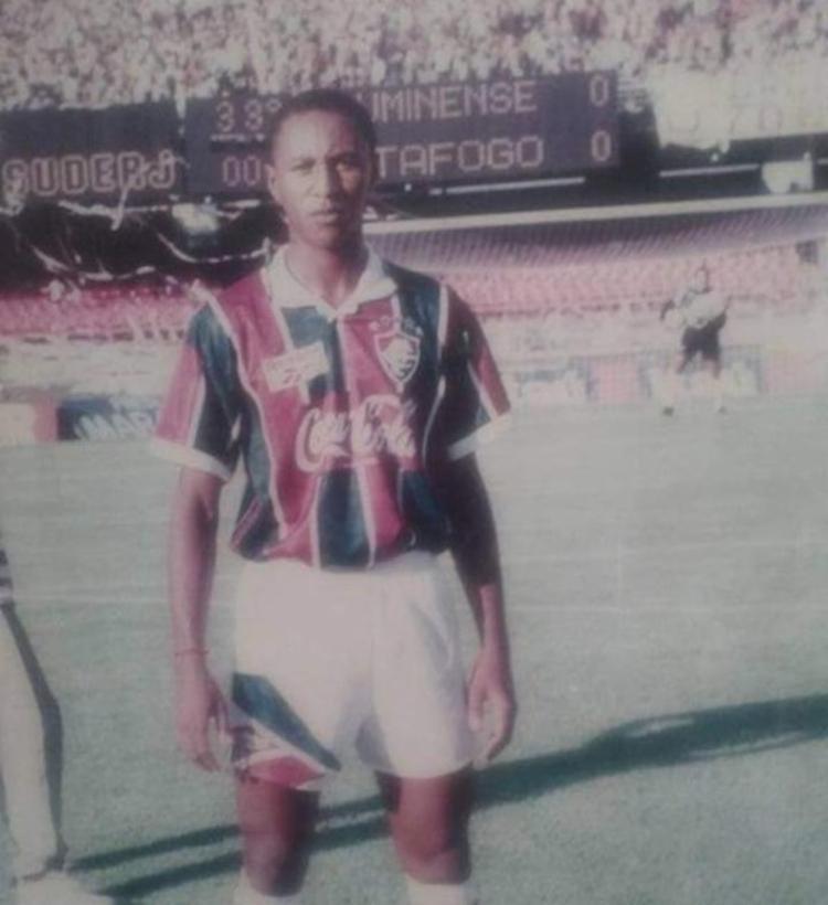 Jogador atuou pelo time carioca entre 1992 e 1994 | Foto: Reprodução | Arquivo Flu Memória - Foto: Reprodução | Arquivo Flu Memória