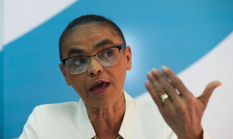 Marina criticou a atuação de Jair Bolsonaro durante a pandemia | Foto: Wilson Dias | Agência Brasil - Foto: Wilson Dias | Agência Brasil