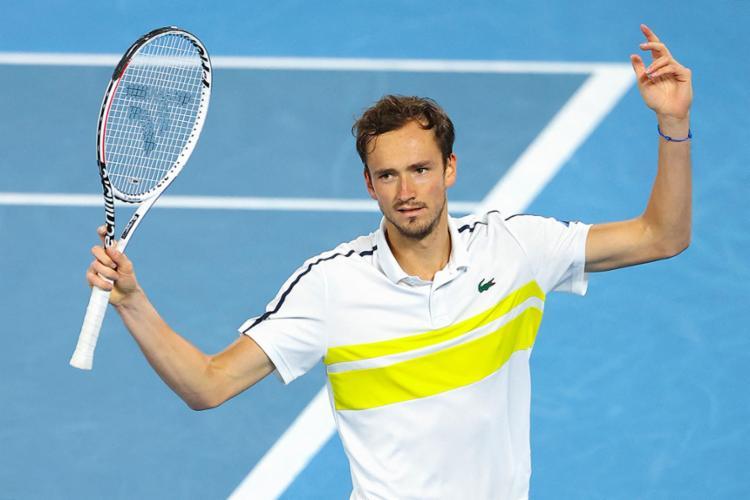 Tenista russo seria o segundo cabeça de chave, atrás apenas de Djoko | Foto: Brandon Malone | AFP - Foto: Brandon Malone | AFP