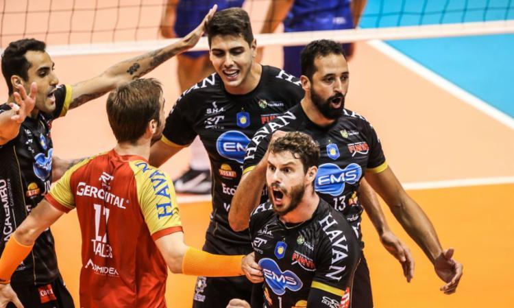 Equipe paulista venceu Minas e conquistou o segundo título | Foto: Wander Roberto | Inovafoto | CBV - Foto: Wander Roberto | Inovafoto | CBV