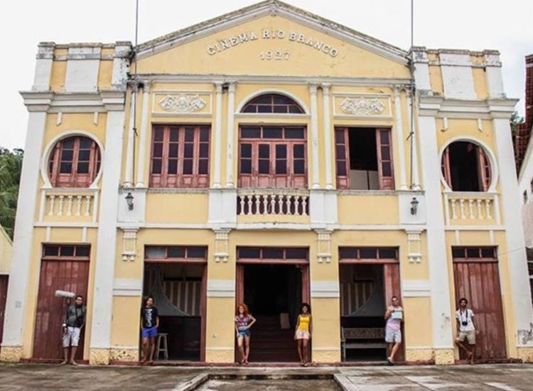 Cine Rio Branco de Nazaré foi um dos locais que recebeu a Mostra   Foto: Divulgação - Foto: Divulgação