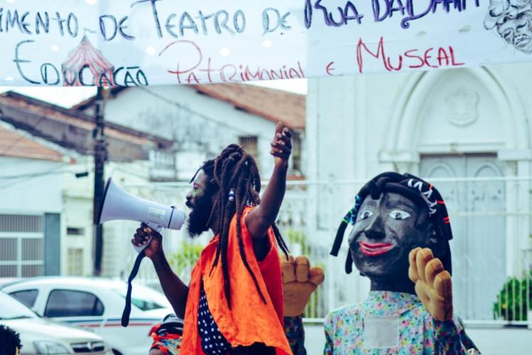 O Museu é a Rua traz um diálogo entre teatro de rua e educação patrimonial | Foto: Divulgação - Foto: Divulgação