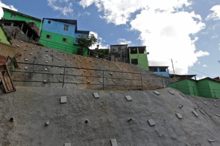 Obras foram entregues na rua Rosalvo Silva | Foto: Fernando Vivas | GOVBA - Foto: Fernando Vivas | GOVBA