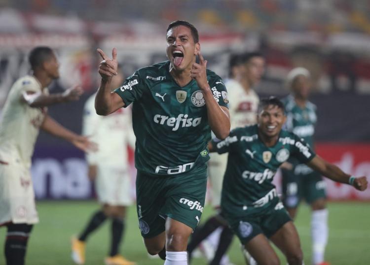 Verdão supera o Universitario por 3 a 2, no estádio Monumental de Lima, na capital peruana | Foto: Divulgação | Libertadores - Foto: Divulgação | Libertadores