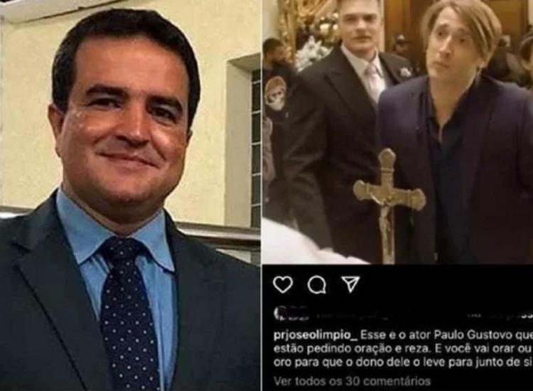 Pastor fez comentário em rede social   Foto: Reprodução - Foto: Reprodução