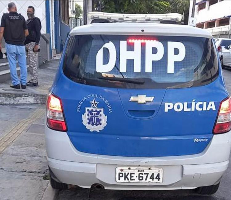 Homem foi submetido a exames de lesões corporais e está à disposição da Justiça | Foto: Divulgação | Polícia Civil - Foto: Divulgação | Polícia Civil