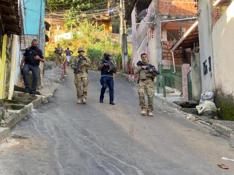 Sete equipes das unidades policiais participam das ações - Foto: Divulgação | SSP-BA