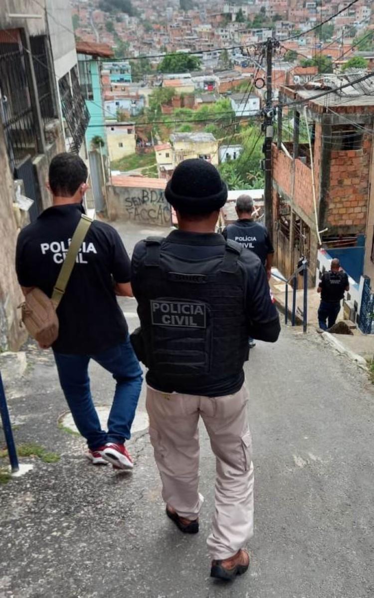 Operação contou com a participação de 80 policiais - Foto: Divulgação