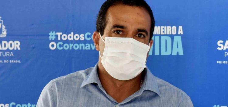 Prefeito afirmou que decisão será tomada até novembro e depende exclusivamente do envio de vacinas pelo governo federal - Foto: Divulgação