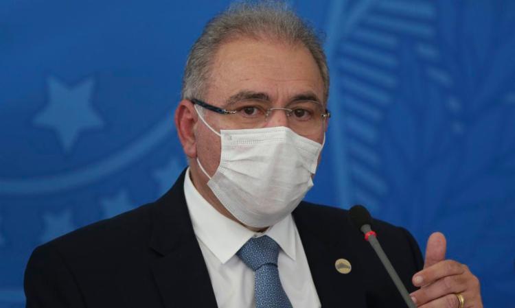 Para o ministro, a imprensa não contribui com o Brasil durante a pandemia de Covid-19. Foto: Fábio Rodrigues Pozzebom | Agência Brasil - Foto: Fábio Rodrigues Pozzebom | Agência Brasil