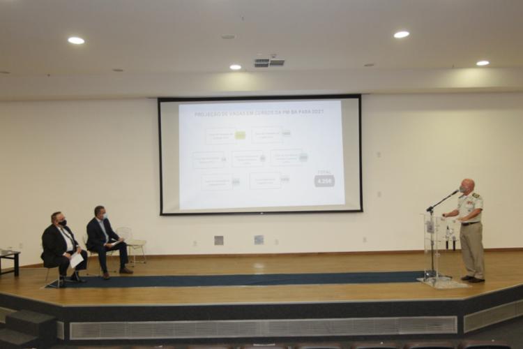 Medidas visam dar celeridades nas promoções de patentes da PM-BA | Foto: Camila Souza | GOV-BA - Foto: Camila Souza | GOV-BA