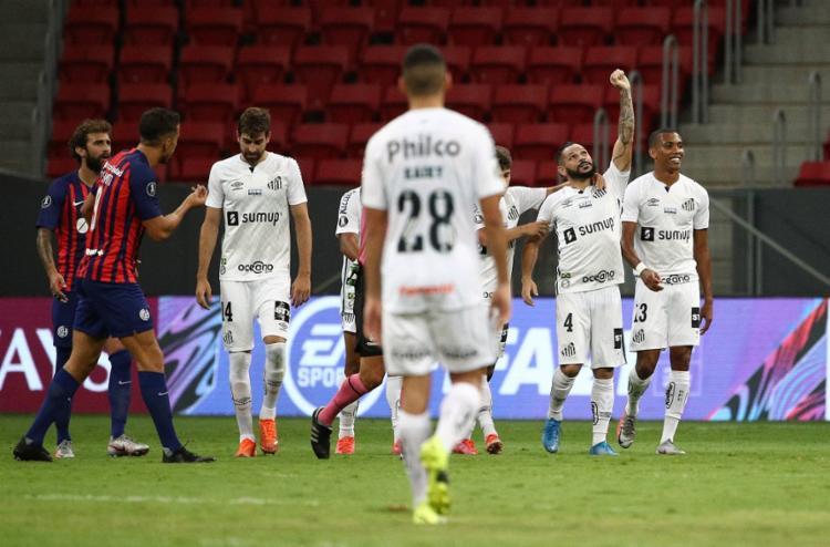 Peixe empata com San Lorenzo no Mané Garrincha | Foto: Buda Mendes | AFP - Foto: Buda Mendes | AFP