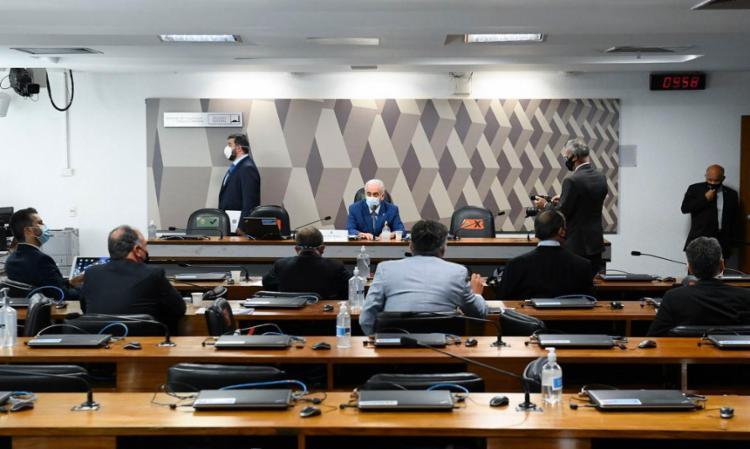 A composição da comissão é desfavorável ao governo de Jair Bolsonaro (sem partido), que tem minoria. Foto: Jefferson Rudy   Agência Senado - Foto: Jefferson Rudy   Agência Senado