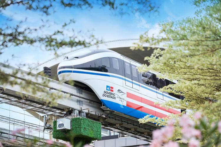 SkyRail Bahia: transporte ferroviário conectado ao metrô | Foto: Divulgação - Foto: Divulgação