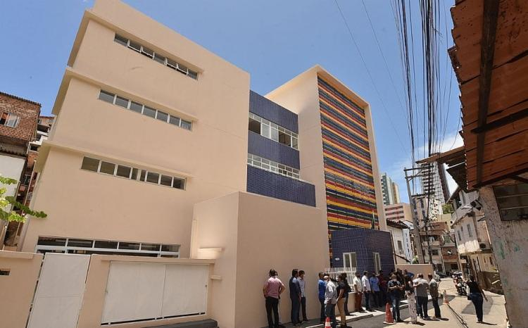 CMEI Calabar é uma das unidades que vão receber a visita do secretário municipal de educação | Foto: Max Haack | Secom - Foto: Max Haack | Secom