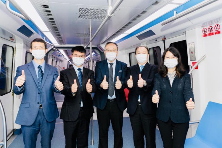 Primeiro dos 28 trens que irão compor o modal foi apresentado em transmissão online | Divulgação: BYD - Foto: Divulgação: BYD