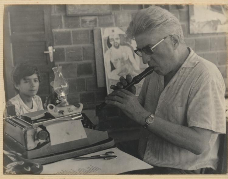 Walter Smetak foi músico, pesquisador e professor   Foto: Divulgação - Foto: Divulgação