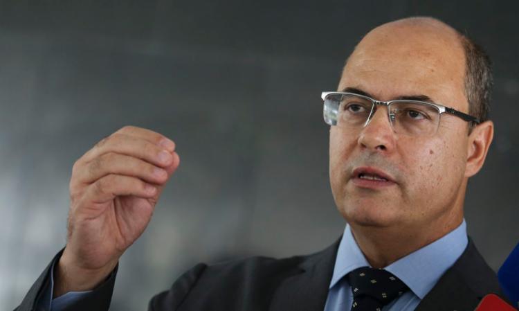 Witzel também direcionou algumas críticas ao ex-secretário de Saúde, Edmar Santos   Foto: Antônio Cruz   Agência Brasil - Foto: Antônio Cruz   Agência Brasil