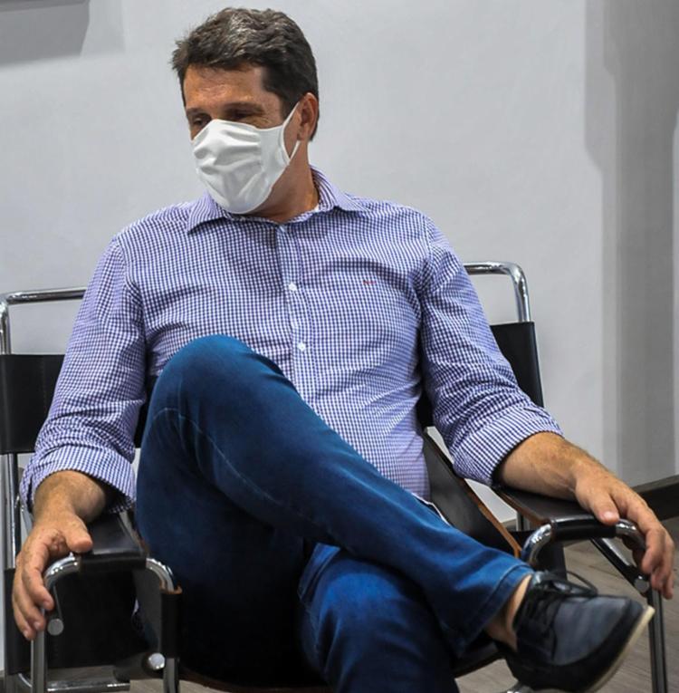 Zé Cocá se diz disposto a brigar para o BB não fechar | Foto: Felipe Iruatã | Ag. A TARDE - Foto: Felipe Iruatã | Ag. A TARDE