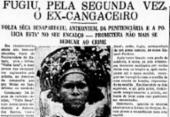 Volta Seca foi um personagem constante na cobertura das mídias | Foto: Cedoc A TARDE
