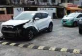 Motociclista fica ferido em acidente com carro na orla do Corsário | Foto: Reprodução