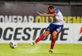Bahia reage depois de sair atrás, mas perde pênalti e fica no empate com Independiente | Foto: Felipe Oliveira | EC Bahia