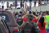Bahia é recebido com festa da torcida após título da Copa do Nordeste | Foto: Cidadão Repórter | via Whatsapp